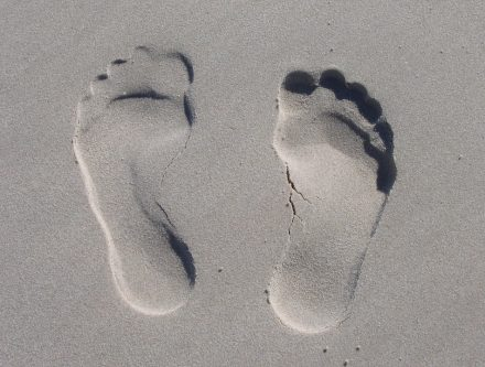 Avoir des pieds solides