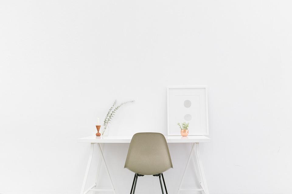 Une table pliante